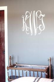 monogram wall decal with personalized monogram wall decal any room monogram wall decals wood zer