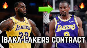 Los Angeles Lakers Serge Ibaka Contract ...