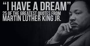 Martin Luther King I Had A Dream Speech Quotes