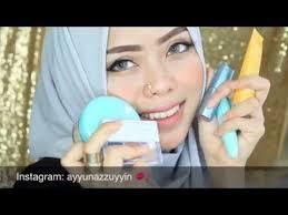 wardah kosmetik one brand makeup tutorial ayyunazzuyyin makeup indonesia you