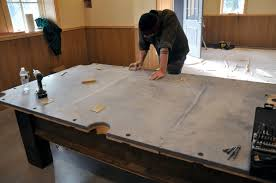Setting Up A Pool Table A Custom Pool Table From Reclaimed Lumber Finewoodworking