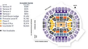 Memphis Grizzlies Arena Seating Chart 2016 17 22 Game Packs Memphis Grizzlies
