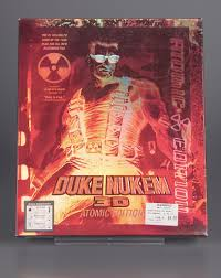 Video game product package:<b>Duke Nukem 3D</b>: Atomic Edition ...