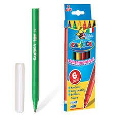 <b>Фломастеры</b>, <b>Carioca</b>, Joy, 6 цветов, в картонной коробке ...