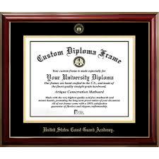 united states coast guard academy classic diploma frame diploma  united states coast guard academy classic diploma frame