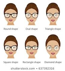 Oval Face Shape Images Stock Photos Vectors Shutterstock