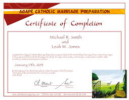 Collection Of Solutions Pre Marriage Counseling Certificate Template