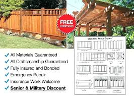 fence company san jose sierra lumber photo of and45