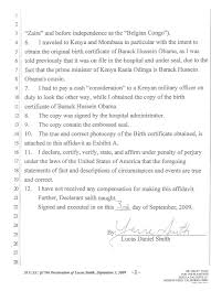 Subpoena In A Civil Case Served On Consulate General Of Kenya In Los