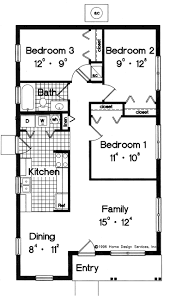 Best 25+ Simple house plans ideas on Pinterest | Simple floor plans, Simple  home plans and 3 bedroom home floor plans