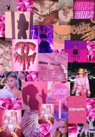 Baddie Aesthetic Collage