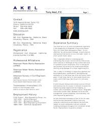 Sample Resume For Civil Engineering Student With Civil Engineer ...