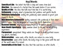 Christian Quotes On Euthanasia Best of Revision Guide Edexcel GCSE Religious Studies Ppt Video Online