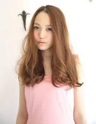 ワンレンロングベージュカラーyu 63 ヘアカタログ髪型ヘア
