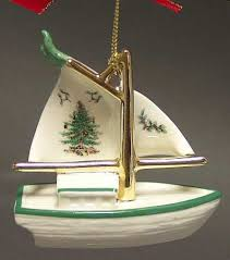 Toy-Sailboat - Boxed in the Spode Christmas Tree Misc-Orn pattern by Spode