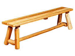 rustic wood bench. Contemporary Bench To Rustic Wood Bench H