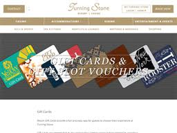 Turning Stone Rewards Chart Turning Stone Resort Casino Gift Card Balance Check
