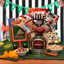 Great Gifts For Football Fans Fun Filled Gift Basket