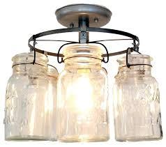 vintage mason jar ceiling light bell pendant lighting fixtures mason jar pendant lamp