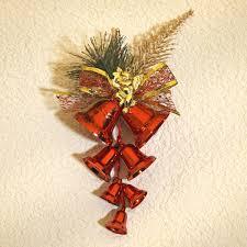 Weihnachtsdeko 7 Glocken Rot