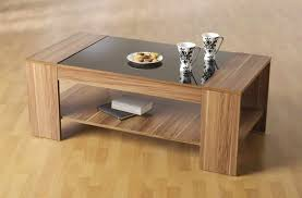 stunning brown rectangle modern glass and wood cool coffee table depressed ideas