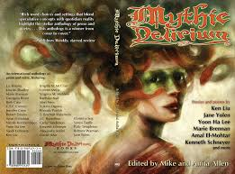 mythic delirium books blog archive the mythic delirium anthology mythic delirium paperback cover