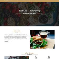 Restaurant Website Templates Enchanting Responsive Restaurant Website Design Templates ThemeVault