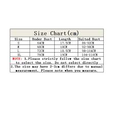 Bra Size Chart Letters Tops Size Chart Rldm