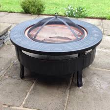 raygar multifunctional round 3 in 1 metal garden fire pit bbq ice bucket patio heater raygardirect com