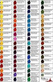 Image Result For Acrylic Paint Color Mixing Chart Printable