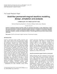 pdf ytic calculation of axial flux permanent magnet motor torque