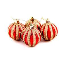<b>FUNNYBUNNY</b> 6PCS Holiday Time <b>Christmas Tree Ornaments</b> ...