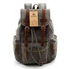 <b>Vintage</b> Canvas <b>Backpack</b>