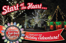 enchanted garden of lights at rock city