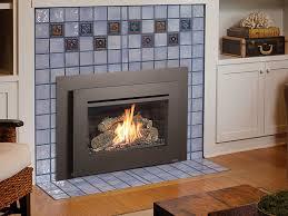 gas fireplace insert ideas