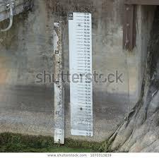 Rain Gauge Helps Chart Rainfall Measurements Stock Photo