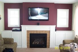 decorating vintage living room ideas with hiding wires for great mounting tv above fireplace
