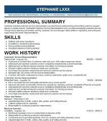 Customer Service Representative Resume Extraordinary Customer Service Representative Resumes Resume Samples 28 Ifest