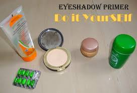 homemade eyeshadow primer