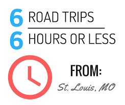there are plenty of destinations in any direction from downtown st louis with plenty of things to see and do along the way