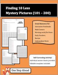 101 200 Chart Printable Finding 10 Less Mystery Pictures 101 200 Chart