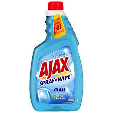 ajax spray n wipe glass cleaner triple action refill 500ml at countdown co nz
