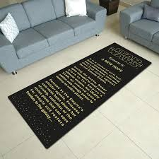 star wars opening credit area rug