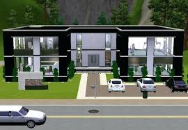 sims 3 house plans modern mansion full size