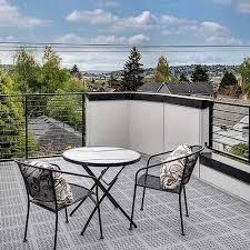 residential rooftop deck flooring option