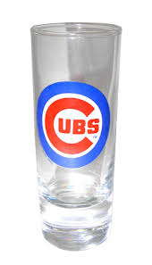 chicago cubs double shot gl