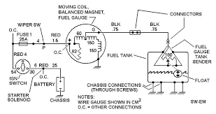 gas gauge wiring diagram gas wiring diagrams