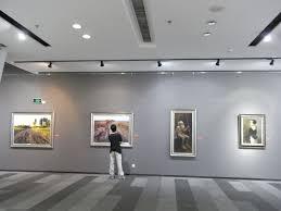 file sz 深圳 大芬油畫村 da fen oil painting village art gallery exhibition