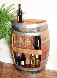 wine barrel wine rack furniture. Half Wine Barrel Cabinet Rack Furniture M