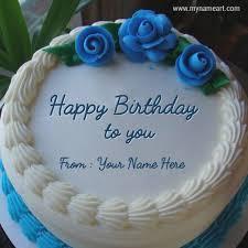Birthday Cake With Name Edit Birthdaycakegirlideasgq